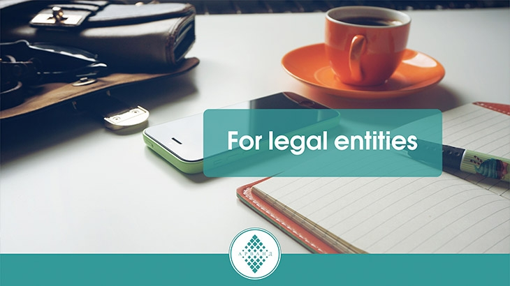 Deposit «For legal entities»